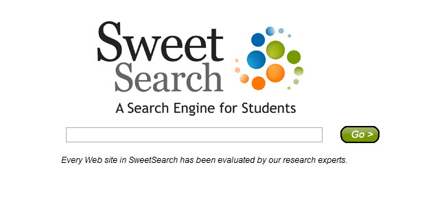 http://www.sweetsearch.com