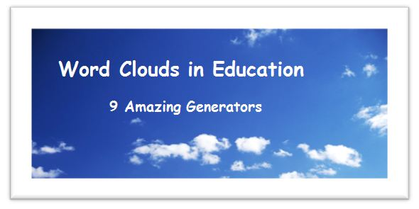 9 amazing word cloud generators for the classroom word clouds in word clouds in education series part 3 welcome gumiabroncs Gallery
