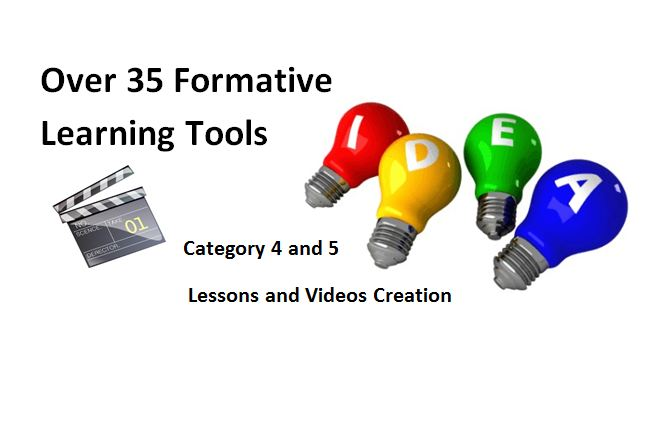 Part 3: Over 35 Formative Assessment Tools To Enhance Formative Learning Opportunities